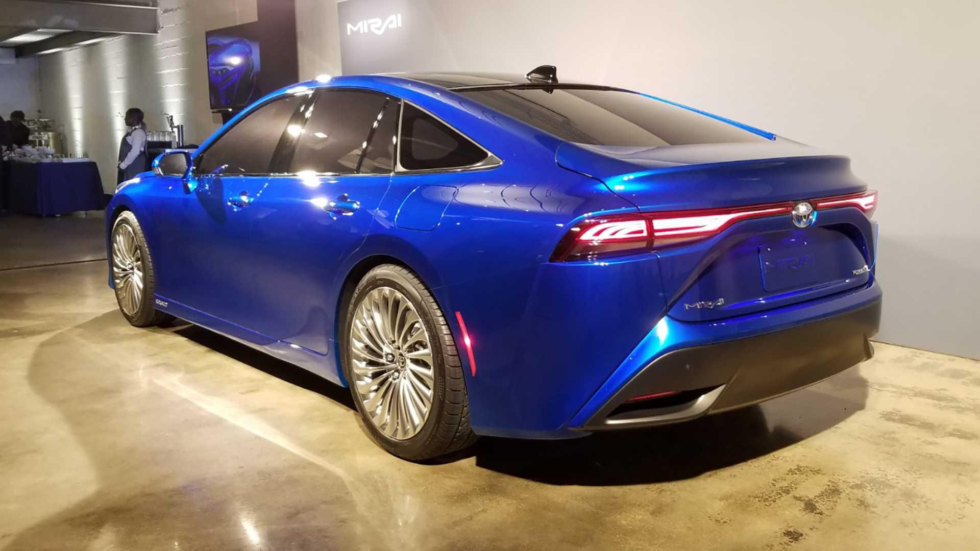 Second Gen Toyota Mirai Unveiled As Stunning Premium Sedan