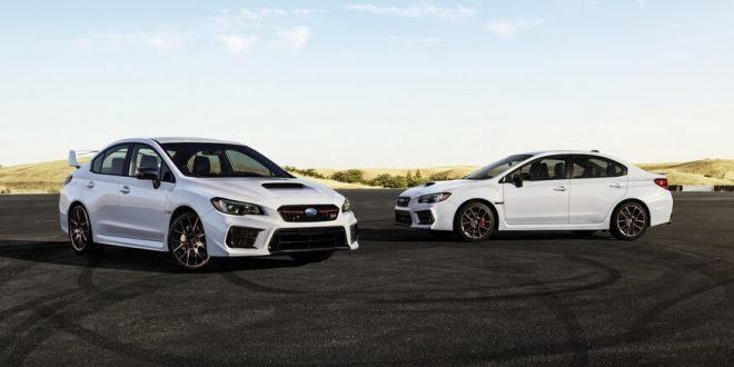 Subaru WRX and WRX STI Series.White rumble in