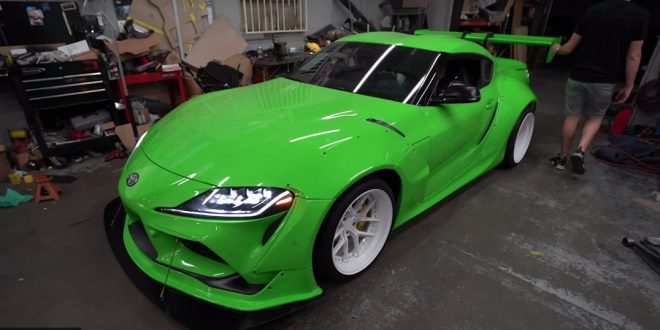 Rocket Bunny gives A90 Toyota Supra the widebody look it deserves