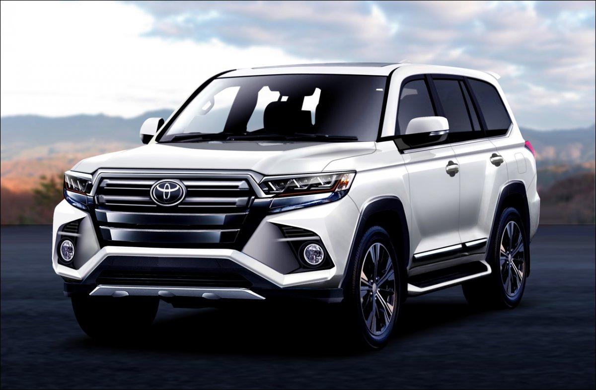 2021 Toyota Land Cruiser Wallpaper
