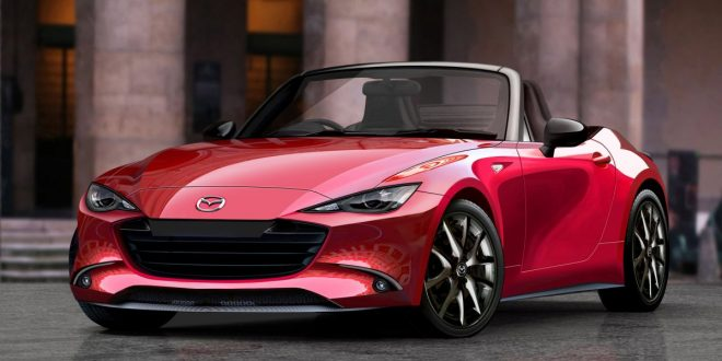 2022 Mazda MX-5 rendered, could see electrification