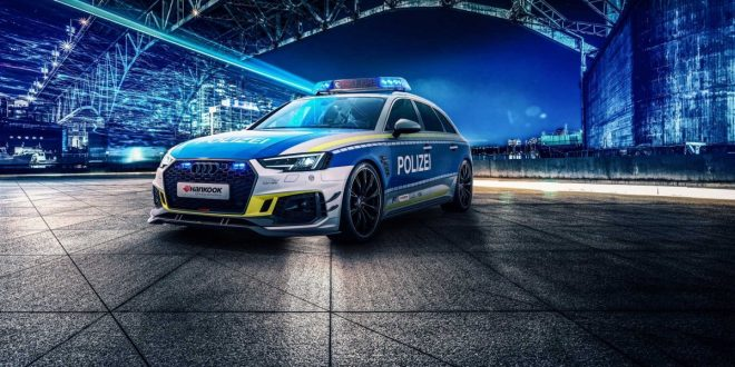 ABT transforms Audi RS 4 into a police car