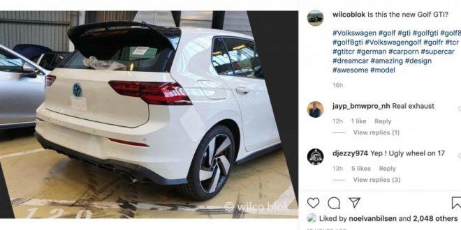 SPY: 2020 Volkswagen Golf GTI reveals its rear end