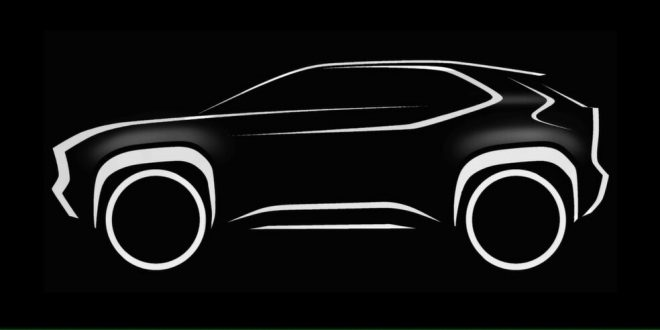 Toyota teases Yaris-based crossover