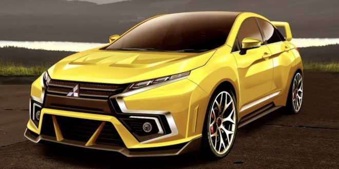 Mitsubishi Galant VR-4 brought back to life in rendering