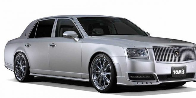 TOM's Racing creates $373k Toyota Century limited edition