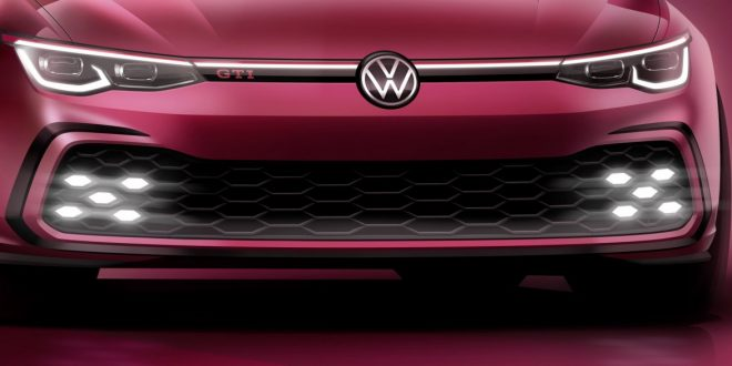 Volkswagen teases Mk8 Golf GTI ahead of Geneva Show debut