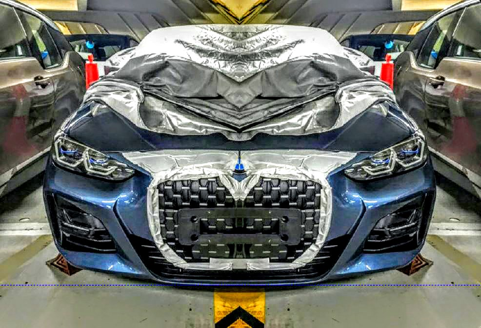 it u0026 39 s happening  2021 bmw 4-series to feature oversized grille