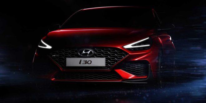 Hyundai i30 N Line facelift teased