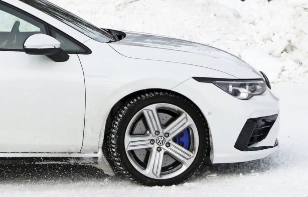 2020 Volkswagen Golf caught undisguised