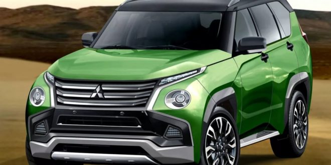 Will the 2021 Mitsubishi Pajero look this good?