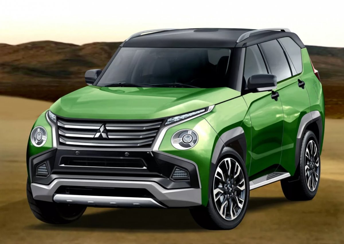 Will The 2021 Mitsubishi Pajero Look This Good Forcegt Com