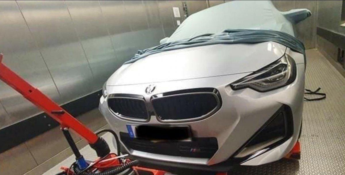 SPIED: 2022 BMW 2 Series Coupé - ForceGT.com