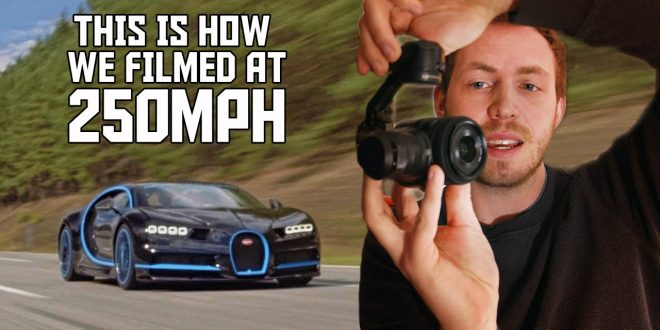 Bugatti reveals how it filmed the Chiron doing 400km/h