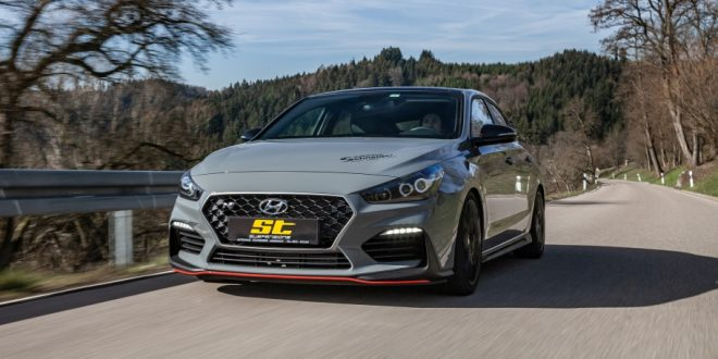 Hyundai i30 N sharpened with KW height adjustable springs