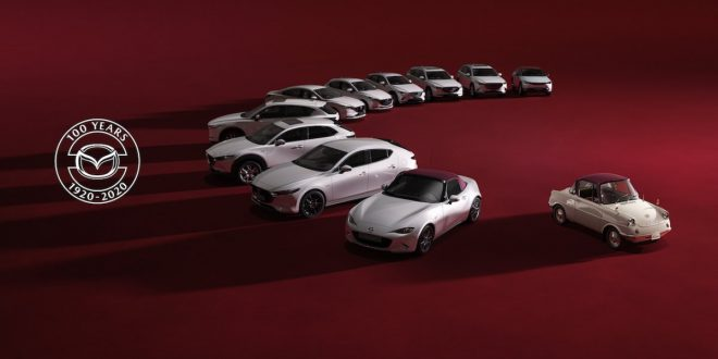 Mazda celebrates 100th Year Anniversary with Special Edition models