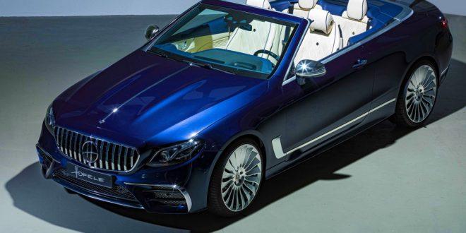 Hofele unveils bespoke Mercedes-AMG E53 Cabriolet