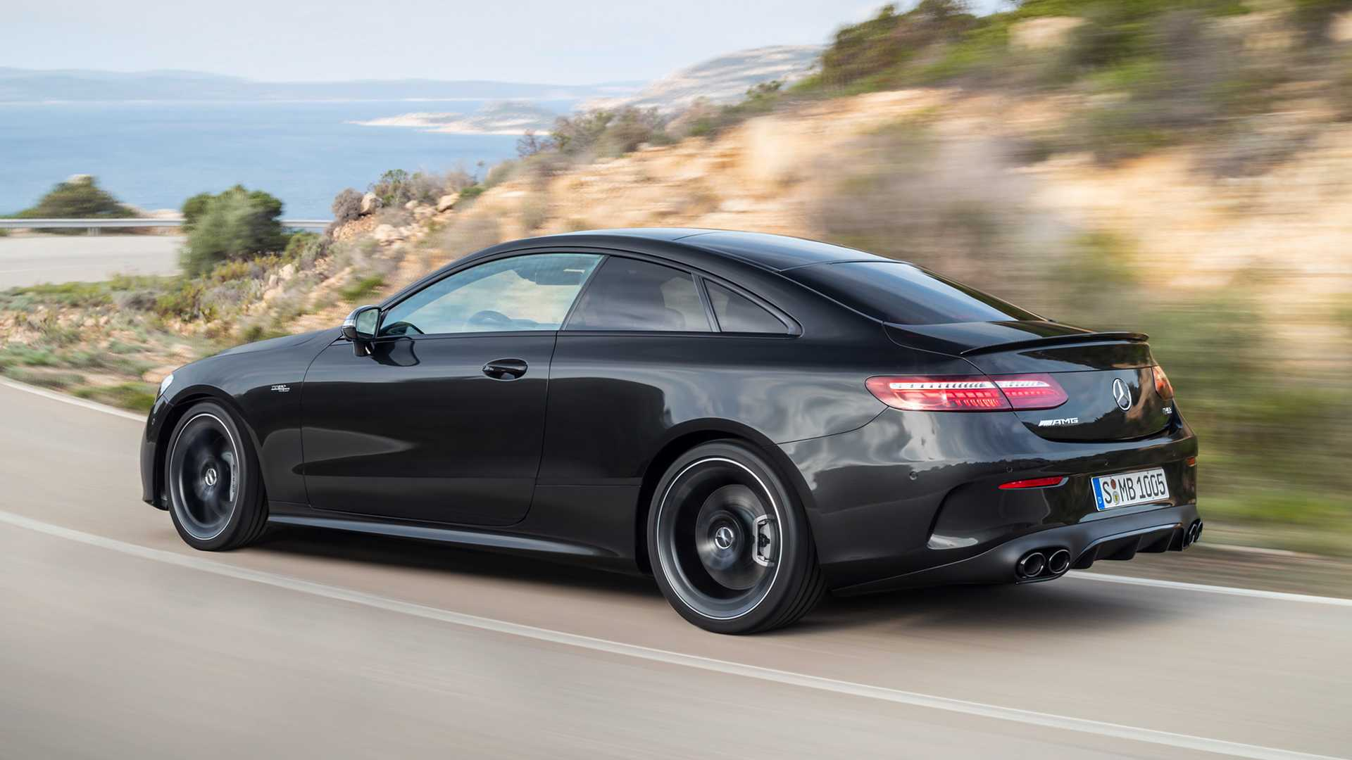 2021 Mercedes-AMG E53 Coupe debuts with revitalised looks ...
