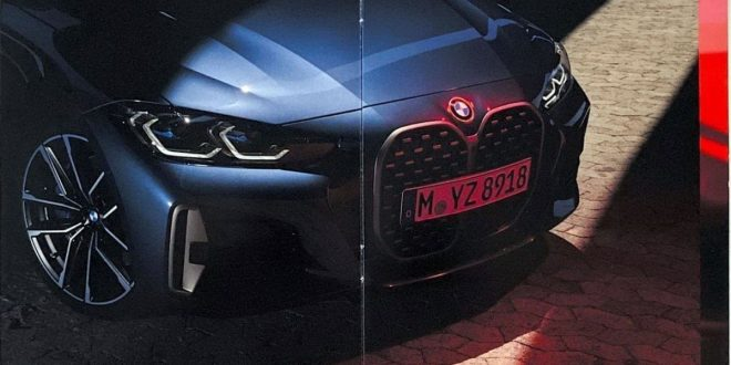 2021 BMW 4 Series leaked with controversial grille