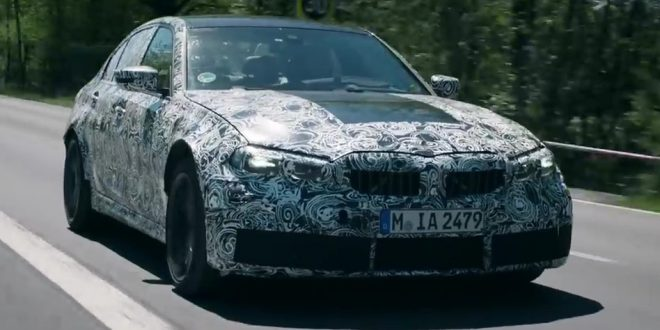 2021 G80 BMW M3 teased in official video