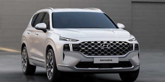 Updated 2021 Hyundai Santa Fe brings radical front fascia