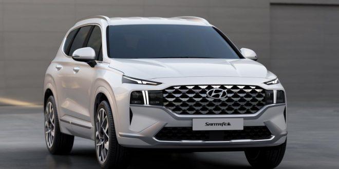 Updated 2021 Hyundai Santa Fe brings radical front fascia