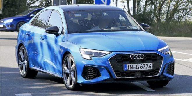 2021 Audi S3 sedan hits the road fully undisguised