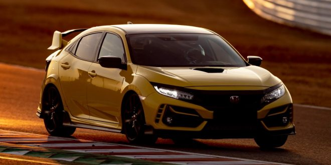 Honda Civic Type R Limited Edition sets new record at Suzuka