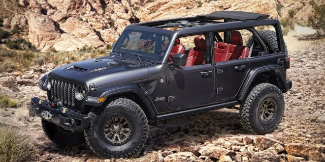 Jeep introduces V8 Wrangler Rubicon 392 Concept
