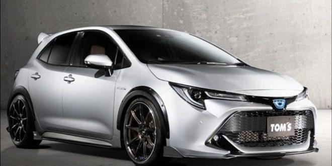 TOM'S Toyota Corolla shows off tasteful mods