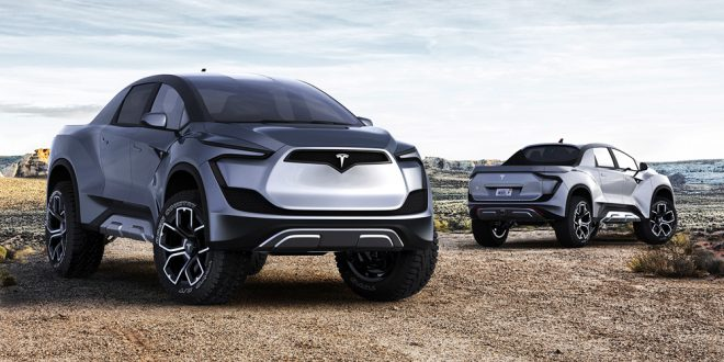 Tesla Model P – the All-Electric Super Ute?