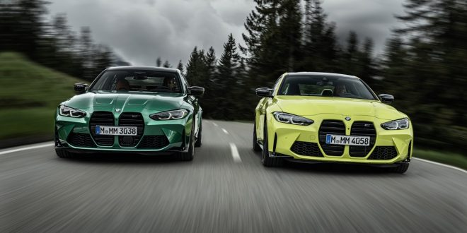 First Look: All-New 2021 BMW M3 and M4
