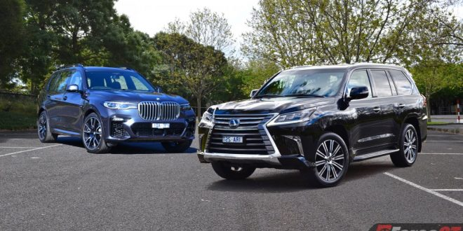 2020 BMW X7 xDrive30d vs Lexus LX 570 Review