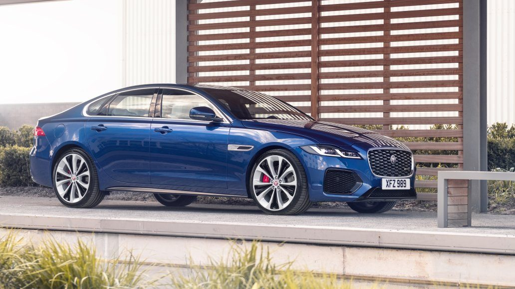jaguar xf refreshed for 2021 with major new interior