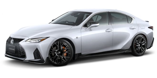 TRD and Modellista dress up the new 2021 Lexus IS