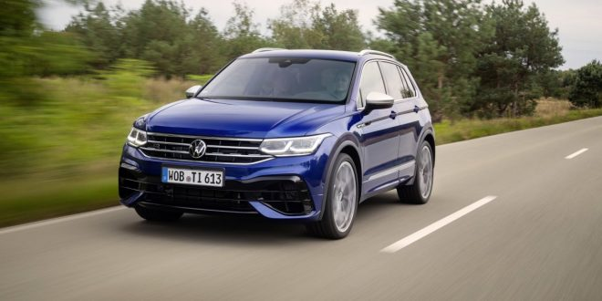 2021 VW Tiguan R unveiled and it's quicker than 1st-gen Cayenne Turbo S