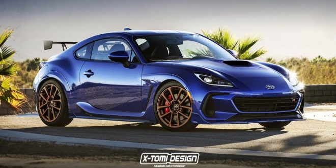 Rendering: Subaru BRZ STI is a tantalising proposition