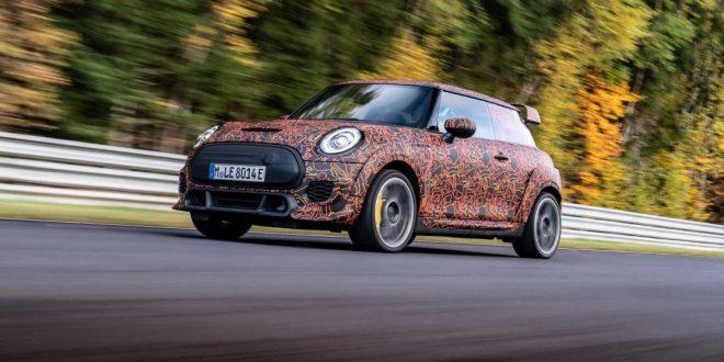 Mini John Cooper Works teases its EV hot hatch