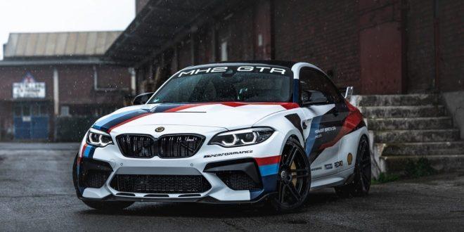Tuned-up BMW M2 CS becomes the Manhart MH2 GTR