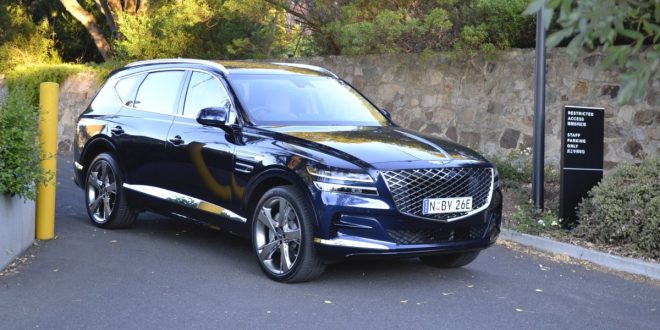 2021 Genesis GV80 7-seat luxury SUV review