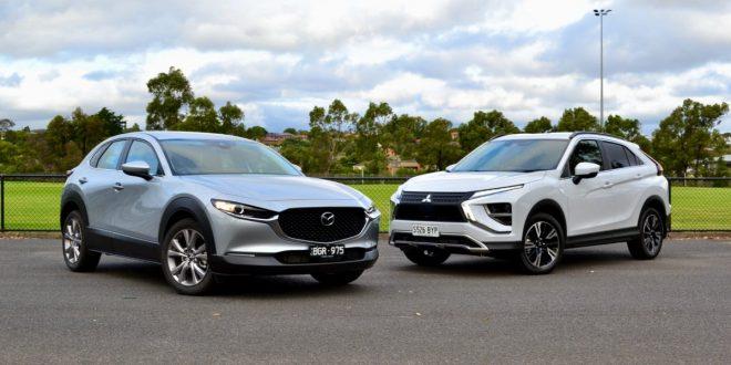 2021 Mazda CX-30 vs Mitsubishi Eclipse Cross Comparison Review