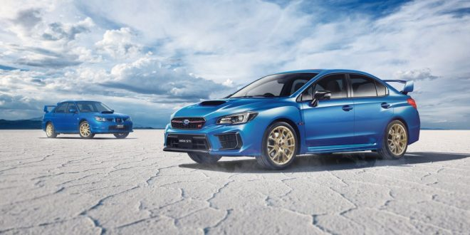Subaru drops limited-run WRX STI EJ25 Final Edition