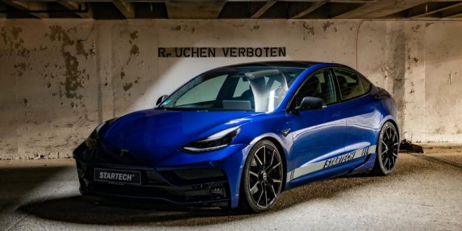 Tesla Model 3 Performance spiced up by Startech