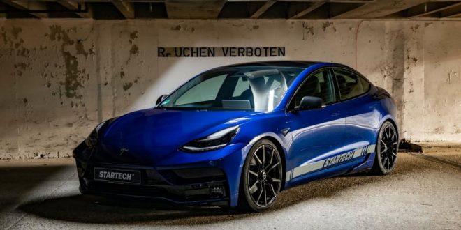 Tesla Model 3 Performance spiced up by Startech