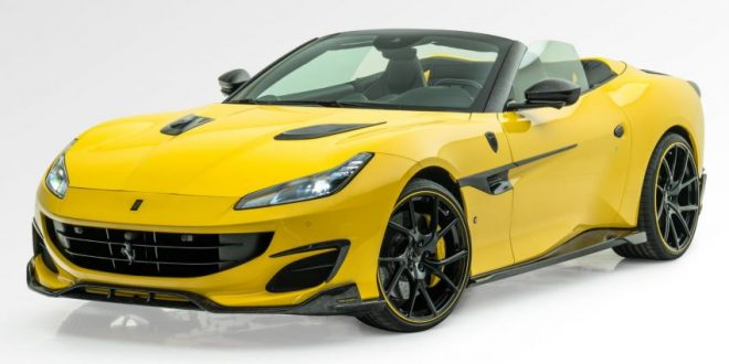 Mansory tuned Ferrari Portofino gets carbon top and 0-100km/h in 3.0s