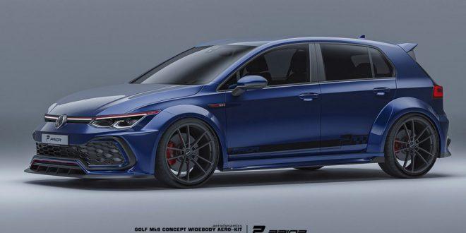Prior Design gives Volkswagen Golf 8 GTI a wild racer transformation