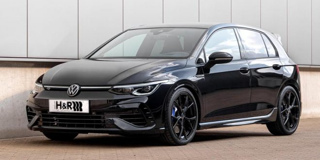 Volkswagen Mk8 Golf R hots up with H&R lowering springs and spacers