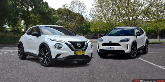 2021 Nissan Juke vs Toyota Yaris Cross Comparison Review