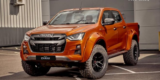 Isuzu D-Max toughens up with Arctic Trucks AT35 package